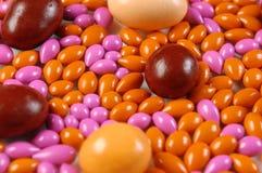 Bunte Dragee-Süßigkeiten Lizenzfreies Stockfoto