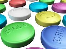 Bunte Droge Stockbilder