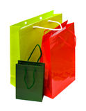 Bunte Einkaufenbeutel   Stockbilder