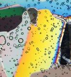 Bunte Eiskristalle Lizenzfreie Stockbilder