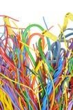 Bunte elektrische Seilzüge Lizenzfreie Stockfotografie