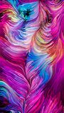 Bunte Farben-Synergie Lizenzfreies Stockfoto