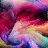 Bunte Farben-Wege Lizenzfreie Stockfotografie