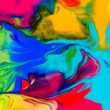 Bunte Farbenbeschaffenheit Lizenzfreies Stockfoto