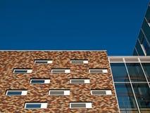 Bunte Fassade Lizenzfreies Stockbild