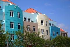 Bunte Fassaden Stockfoto