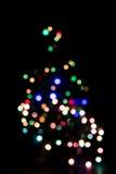 Bunte Feiertagsdekoration - abstrakter Weihnachtshintergrund Lizenzfreies Stockbild