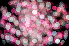 Bunte Feiertagsdekoration - abstrakter Weihnachtshintergrund Stockfoto