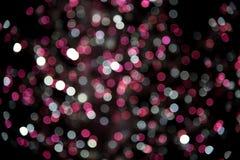 Bunte Feiertagsdekoration - abstrakter Weihnachtshintergrund Stockfotografie