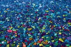 Bunte Felsen und Steine für Hintergrund stockfoto