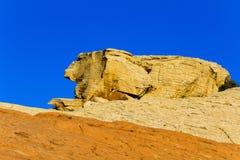 Bunte Felsformation, Nevada Stockfotografie