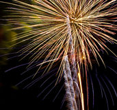 Bunte Feuerwerke stockfotografie