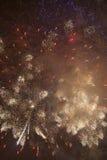 Bunte Feuerwerke Lizenzfreie Stockfotos