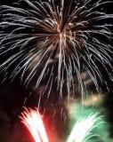 Bunte Feuerwerke Lizenzfreies Stockfoto