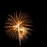 Bunte Feuerwerke Lizenzfreie Stockfotografie