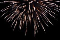 Bunte Feuerwerke stockfoto
