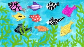 Bunte Fische vektor abbildung
