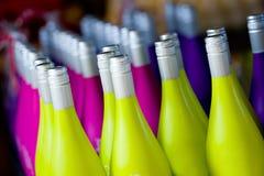 Bunte Flaschen Lizenzfreie Stockfotografie