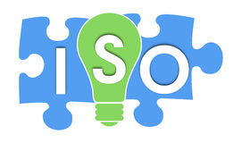 Bunte Formen ISO Stockfotos