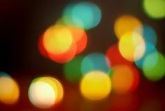 Bunte funkelnde Leuchten Lizenzfreie Stockbilder