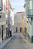 Bunte Gasse, Quebec City Stockbilder