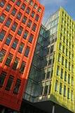 Bunte Gebäude Lizenzfreies Stockfoto
