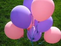 Bunte Geburtstags-Ballone lizenzfreie stockfotografie