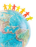 Weltleute-Friedenskonzept lizenzfreie stockbilder