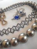 Bunte gelegentliche Halskette stockbilder