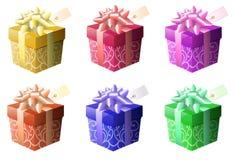 Bunte Geschenke vektor abbildung
