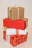 Bunte Geschenke Lizenzfreies Stockbild