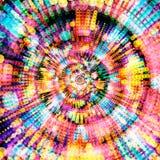 Bunte gestreifte punktierte Linien, abstrakter künstlerischer Konzepthintergrund Lizenzfreies Stockfoto