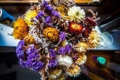 Bunte getrocknete Blumen Lizenzfreie Stockfotografie