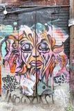 Bunte Graffiti in Toronto Lizenzfreies Stockfoto