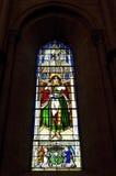 Bunte Grafik von St James, Buntglasfenster Lizenzfreie Stockfotos