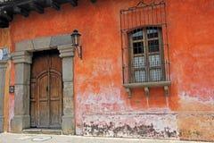 Bunte Häuser in Antigua, Guatemala, Mittelamerika Stockfoto