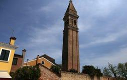 Bunte Häuser in Burano-Insel, Venedig, Italien Lizenzfreie Stockfotografie