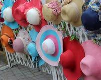 Bunte Hüte Lizenzfreies Stockfoto