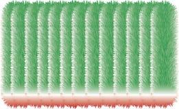 bunte haarige Linien 3D vektor abbildung