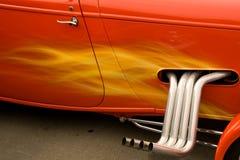 Bunte heißer Rod-Autos Stockfoto