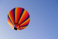 Bunte Heißluftballone Stockbild