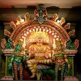 Bunte hinduistische Gottheit Stockfoto