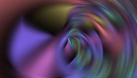 Bunte hypnotische violette silberne machen abstrakten Hintergrund der Wellen, abstrakten Hintergrund glatt Stockfotografie