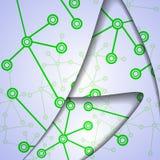 Bunte Illustration DNA, digitale Zusammensetzung. Lizenzfreie Stockbilder