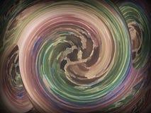 Bunte Illustration in mannigfaltiger Art mit Spezialeffekt stockfoto