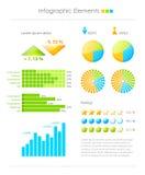 Bunte infographic Elemente Stockfotos