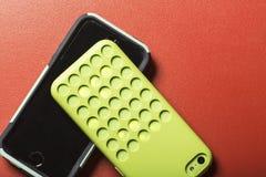 Bunte intelligente Telefone Lizenzfreie Stockfotografie
