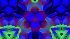 Bunte Kaleidoskopbeschaffenheit, hypnotische geometrische drehende Zahlen Abstrakter Kaleidoskophintergrund, schön vektor abbildung