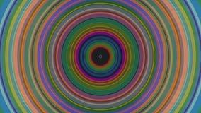 Bunte kaleidoskopische Animation schlingt endlos - großes für Websitehintergründe Halluzinogenische Kaleidoskopanimation stock video