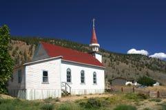 Bunte Kirche Lizenzfreies Stockbild